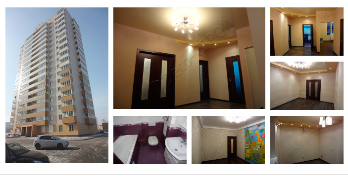 Ремонт трехкомнатной квартиры Адриена Лежена 9/3 Б (79 кв. м.)
